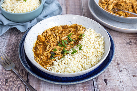 Slow Cooker Pulled Chicken Curry