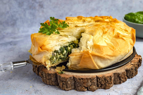 Greek Feta & Spinach Pie