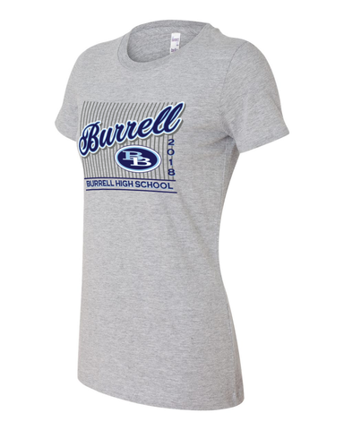 Burrell 2018 Ladies Graphic Tee