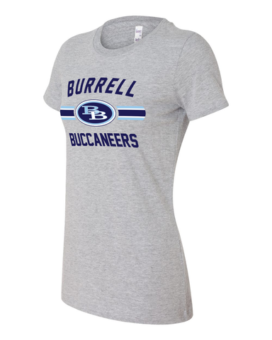 Burrell Buccaneers Ladies Tee