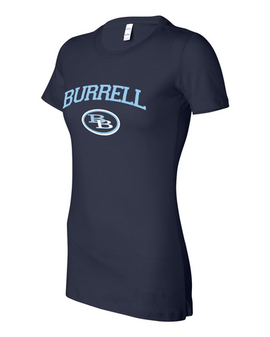 Burrell Logo Ladies Tee