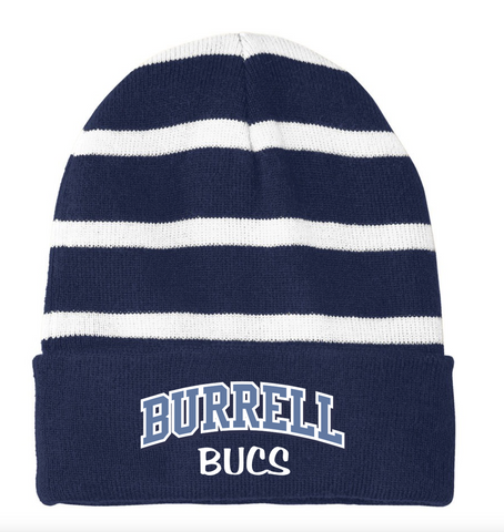 Burrell Striped Beanie