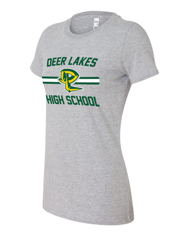Deer Lakes High School Ladies Tee