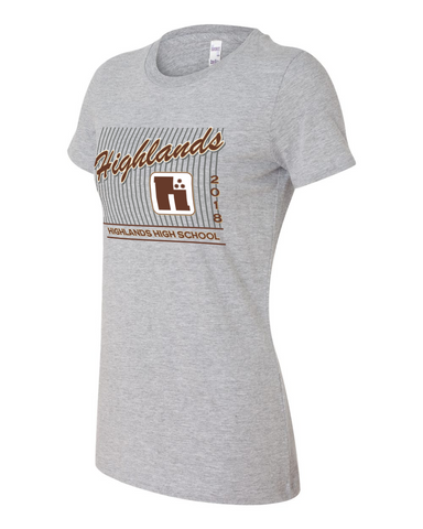 Highlands 2018 Ladies Graphic Tee