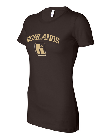 Highlands Logo Ladies Tee