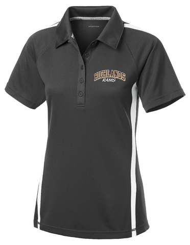 Highlands Ladies Micro-Mesh Polo