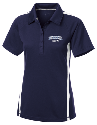Burrell Ladies Micro-Mesh Polo
