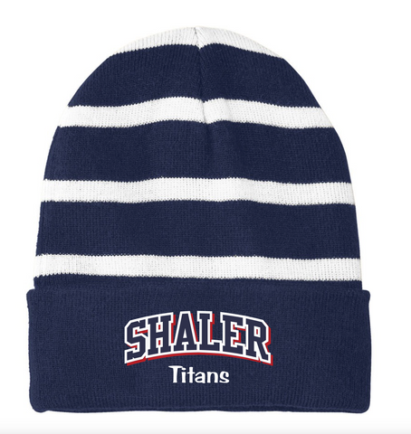 Shaler Striped Beanie