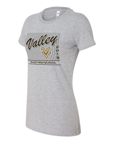 Valley 2018 Ladies Graphic Tee