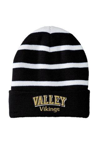 Valley Striped Beanie
