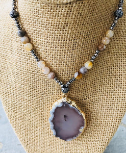 Earth Agate Necklace