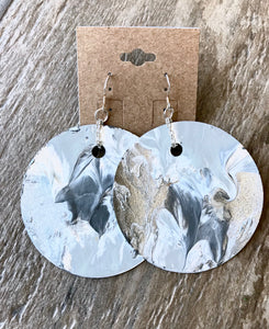 Lava Love Whitewash Earrings