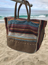 Mayan Thread & Leather Handbag