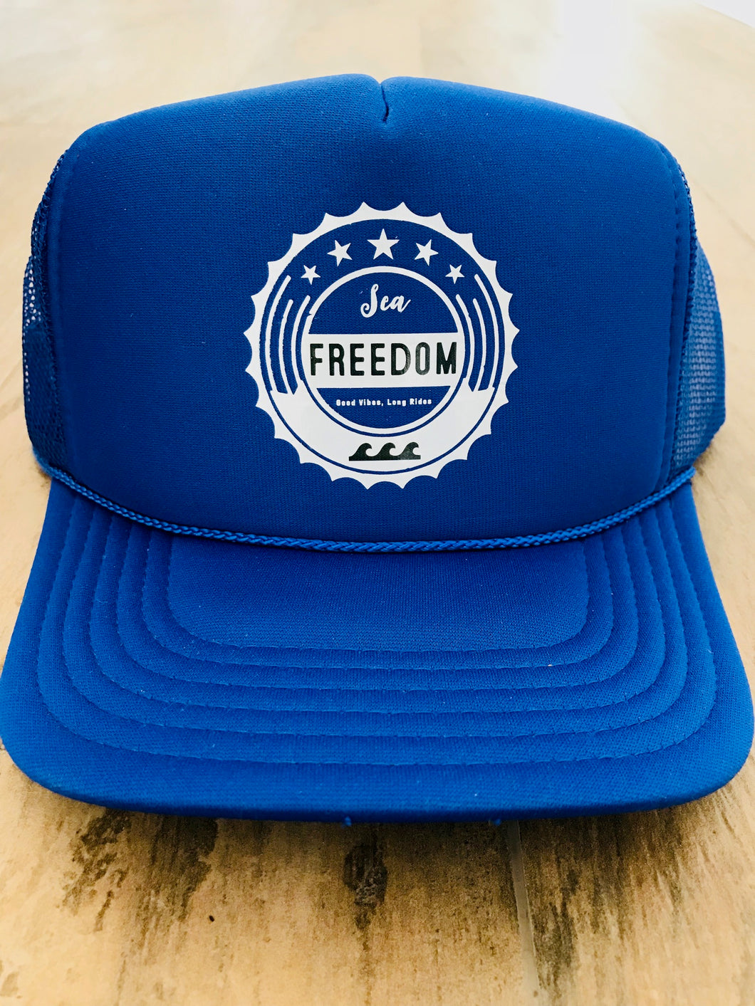 Sea Freedom Trucker Hat