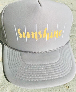 Sunshine Trucker Hat