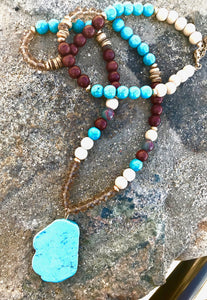 Turquoise Mesa Necklace