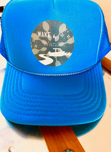 Wake & Wander Trucker Hat