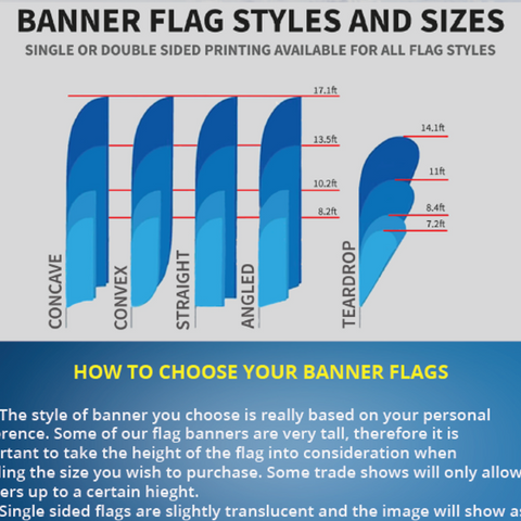 Double Sided Feather Flags