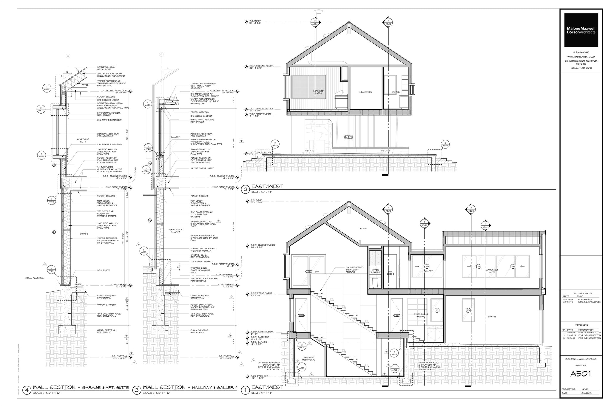 Engineering Drawings and Construction Drawings (B&W)