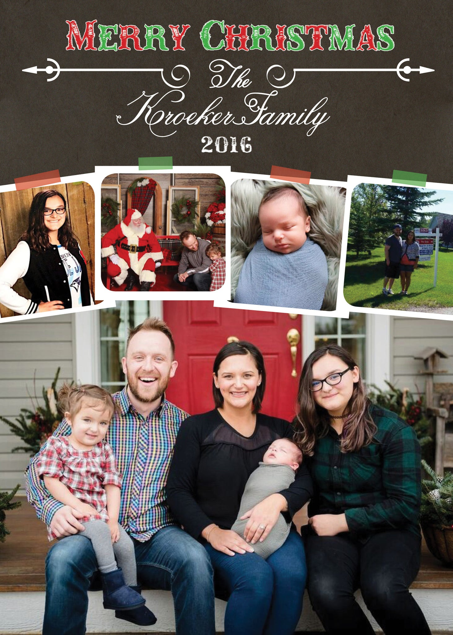 Family Christmas Pictures.Family Christmas Card Calendar Package