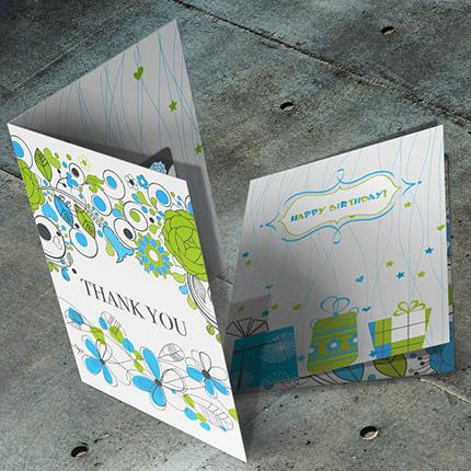 Greeting Cards w/ Gift Card Holder - littlerockprinting