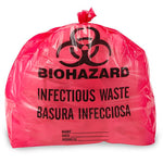 Biohazard Bag - 7-10 Gallon - Red