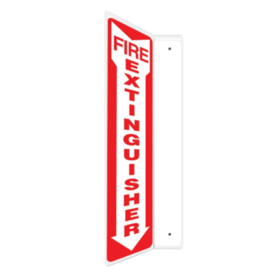 Fire Extinguisher - 2 Way Sign