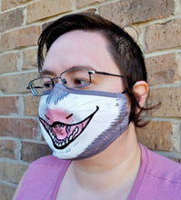 Yellin' Opossum Face Mask - Cotton Face Mask With Filter Pocket and 2 Inserts