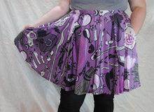 Witchy Workshop Skater Skirt with Pockets