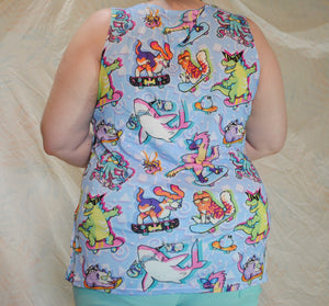 90s Critters Tank Top
