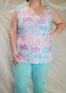 Pastel Controllers Tank Top