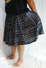 Black Widow's Web Skirt With Pockets