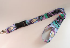 Spooky Ice Cream Lanyard