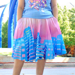 Shoujo City Midi Skirt with Pockets