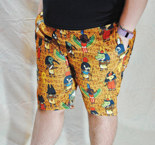 Egyptian Gods Shorts