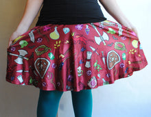 Dungeon Crawler Skater Skirt With Pockets