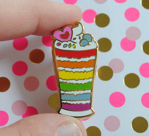 Gay Parfait - Pastry Pride Enamel Pin