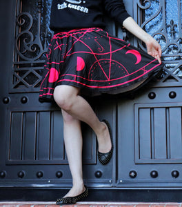 Demon Summoning Skirt With Pockets