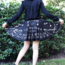 Ouija Board Skirt With Pockets (Black)