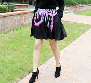 Guro Guts Skirt With Pockets