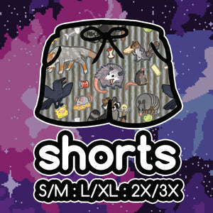 Trash Animals Shorts