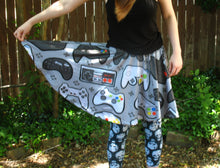 Game Controller Skater Skirt with Pockets