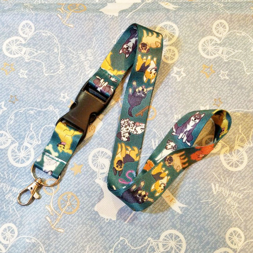 Doggies Lanyard
