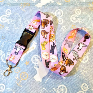 Kitties Lanyard