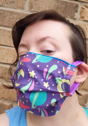 Spacey Face Mask - Adjustable Sizing
