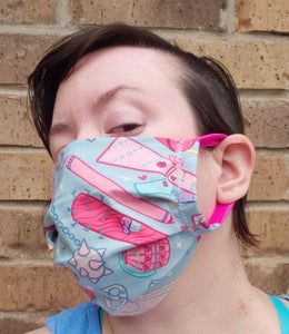 Just Girly Thingz Face Mask - Adjustable Sizing