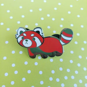 Red Panda Enamel Pin