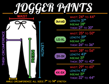 Creepy Eyes Jogger Pants