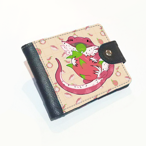 Bearded Dragon Fruit Wallet