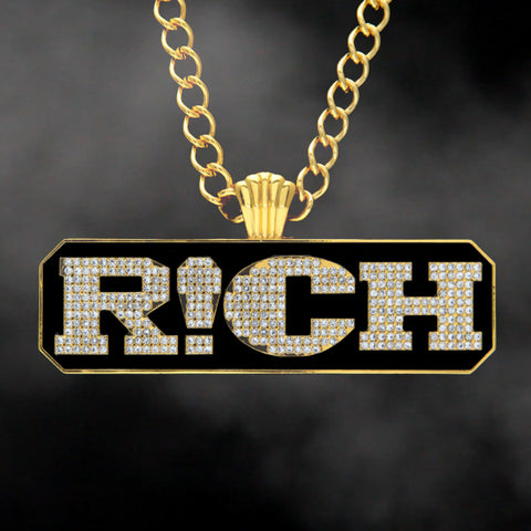Home page page 19 goldpimps cool letter rich pendant necklace aloadofball Gallery